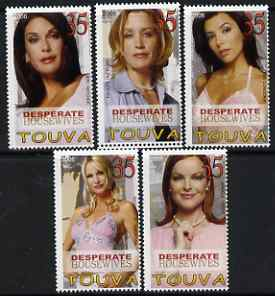 Touva 2006 Stars from Desperate Housewifes perf set of 5 unmounted mint