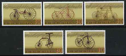 Udmurtia Republic 2006 Bicycles perf set of 5 unmounted mint
