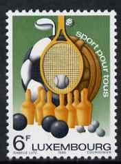 Luxembourg 1980 Sport for All 6f unmounted mint SG 1048