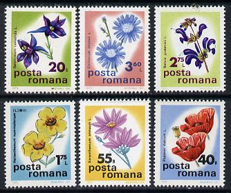 Rumania 1975 Botanical Conference set of 6 unmounted mint, SG 4157-62,  Mi 3285-90*