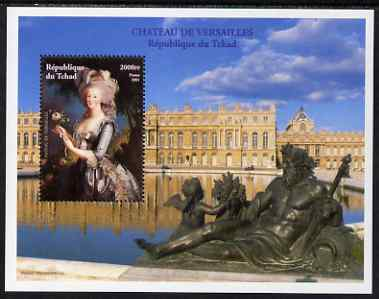 Chad 2001 Palace of Versailles #2 perf s/sheet unmounted mint featuring Marie-Antoinette