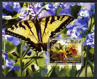 Somalia 2006 Orchids & Butterflies #1 perf s/sheet unmounted mint