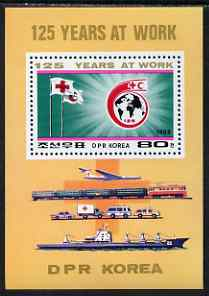 North Korea 1988 125th Anniversary of Red Cross perf m/sheet unmounted mint, SG MS N2753