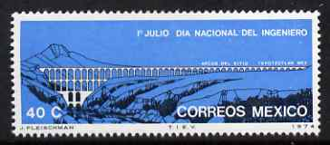 Mexico 1974 National Engineer's Day 40c unmounted mint SG 1305