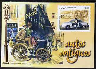 Cuba 2008 Vintage Cars imperf s/sheet unmounted mint