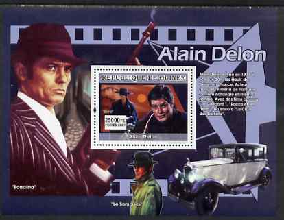 Guinea - Conakry 2007 French Male Film Stars perf souvenir sheet (Alain Delon) unmounted mint Yv 653