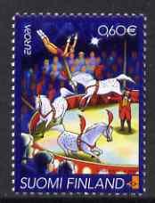 Finland 2002 Europa - 60c Circus unmounted mint SG 1674
