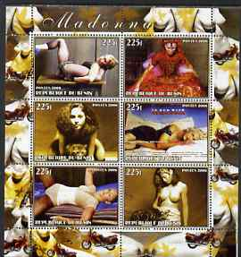 Benin 2006 Madonna perf sheetlet containing set of 6 values unmounted mint