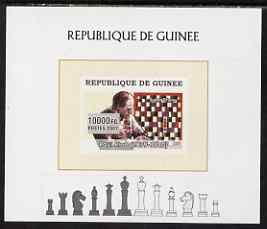 Guinea - Conakry 2008 Chess & Paul Klee individual imperf deluxe sheet unmounted mint. Note this item is privately produced and is offered purely on its thematic appeal, stamps on personalities, stamps on arts, stamps on chess, stamps on
