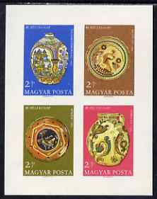 Hungary 1968 Stamp Day - Ceramics imperf m/sheet unmounted mint, as SG MS2395