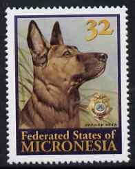Micronesia 1996 Reza (Police Drug Enforcement Unit
