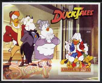 Liberia 2006 Walt Disney - Duck Tales (Donald Duck) imperf m/sheet unmounted mint