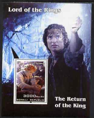 Somalia 2004 Lord of the Rings - The Return of the King #1 perf souvenir sheet unmounted mint