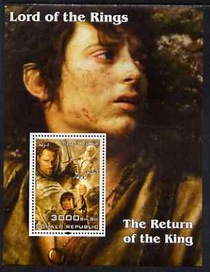 Somalia 2004 Lord of the Rings - The Return of the King #2 perf souvenir sheet unmounted mint
