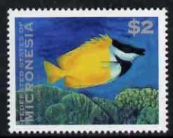 Micronesia 1993-96 Foxfaced Rabbitfish $2.00 unmounted mint, SG 296