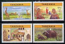 Tanzania 1997 Tourist Attractions perf set of 4 unmounted mint SG 2114-7