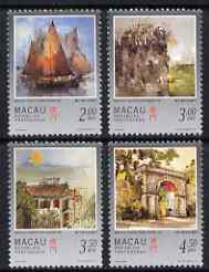 Macao 1997 Paintings by Kwok perf set of 4 unmounted mint SG 974-7