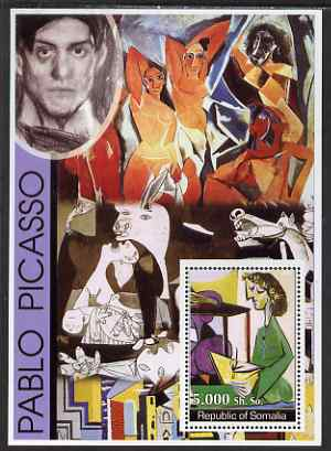 Somalia 2002 Modern Art (Pablo Picasso) perf s/sheet unmounted mint. Note this item is privately produced and is offered purely on its thematic appeal