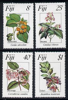 Fiji 1983 Flowers #1 set of 4, SG 665-68 unmounted mint