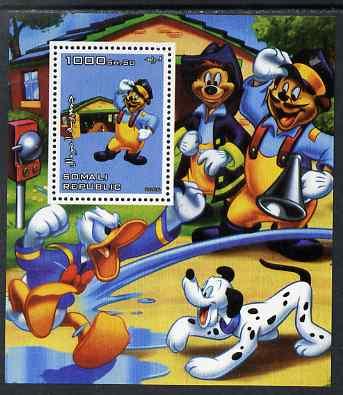 Somalia 2006 Disney - Donald gets Hosed perf m/sheet unmounted mint