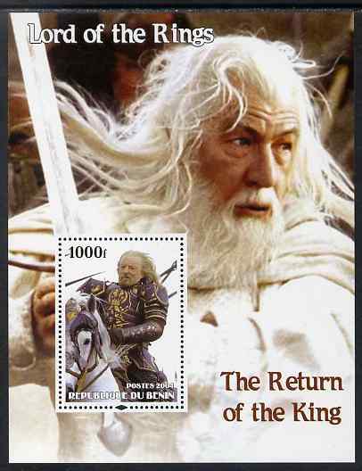 Benin 2004 Lord of the Rings - The Return of the King #1 perf s/sheet unmounted mint
