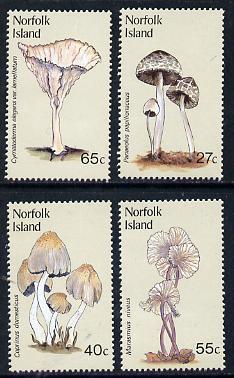 Norfolk Island 1983 Fungi set of 4 unmounted mint, SG 300-3
