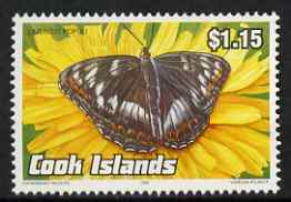Cook Islands 1992 Endangered Species - Venessa atalanta Butterfly $1.15 perf unmounted mint, SG 1299