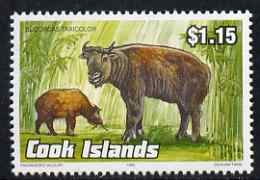 Cook Islands 1992 Endangered Species - Takin $1.15 perf unmounted mint, SG 1300