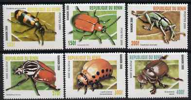 Benin 2000 Insects perf set of 6 unmounted mint. Note this item is privately produced and is offered purely on its thematic appeal