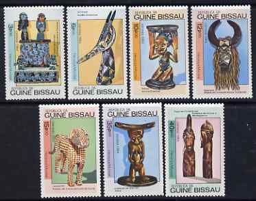 Guinea - Bissau 1984 World Heritage perf set of 7 unmounted mint, SG 864-70