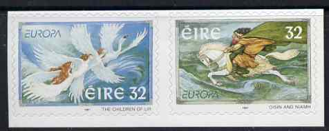 Ireland 1997 Europa - Tales & Legends self adhesive se-tenant set of 2 unmounted mint, SG 1126-27