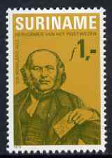 Surinam 1979 Death Centenary of Sir Rowland Hill unmounted mint, SG 975