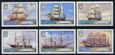 Tuvalu 1981 Ships (1st series) set of 6 unmounted mint, SG 162-67