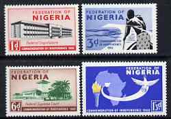 Nigeria 1960 Independence perf set of 4 unmounted mint SG 85-8