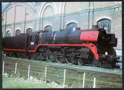 Postcard produced in 1980's in full colour showing Victorian Government Railway Ahlston R Class 4-6-4 No.700-69, unused and pristine
