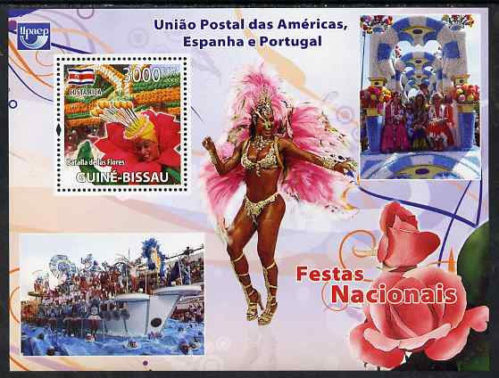 Guinea - Bissau 2008 National Festivals perf souvenir sheet unmounted mint