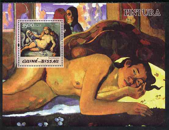 Guinea - Bissau 2005 Paintings by French Impressionists perf s/sheet unmounted mint Mi BL 510