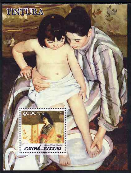 Guinea - Bissau 2005 Paintings by American Impressionists perf s/sheet unmounted mint Mi BL 511