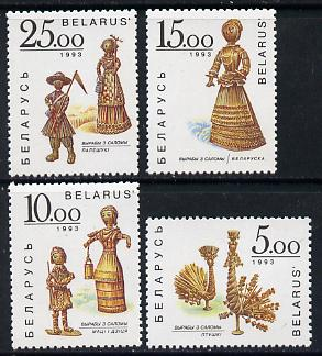 Belarus 1993 Corn Dollies set of 4, SG 34-37 unmounted mint*