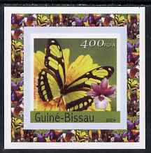 Guinea - Bissau 2004 Butterflies #1 individual imperf deluxe sheet unmounted mint. Note this item is privately produced and is offered purely on its thematic appeal