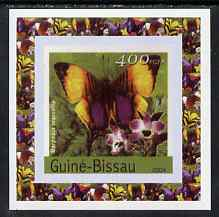 Guinea - Bissau 2004 Butterflies #2 individual imperf deluxe sheet unmounted mint. Note this item is privately produced and is offered purely on its thematic appeal