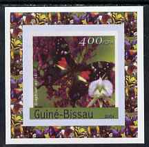 Guinea - Bissau 2004 Butterflies #3 individual imperf deluxe sheet unmounted mint. Note this item is privately produced and is offered purely on its thematic appeal