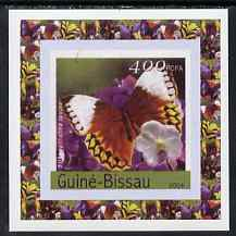 Guinea - Bissau 2004 Butterflies #4 individual imperf deluxe sheet unmounted mint. Note this item is privately produced and is offered purely on its thematic appeal