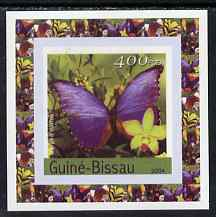 Guinea - Bissau 2004 Butterflies #5 individual imperf deluxe sheet unmounted mint. Note this item is privately produced and is offered purely on its thematic appeal
