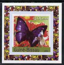 Guinea - Bissau 2004 Butterflies #6 individual imperf deluxe sheet unmounted mint. Note this item is privately produced and is offered purely on its thematic appeal