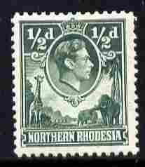 Northern Rhodesia 1938-52 KG6 1/2d green unmounted mint, SG 25