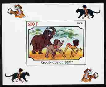 Benin 2008 Disney's Jungle Book #6 imperf individual deluxe sheet unmounted mint. Note this item is privately produced and is offered purely on its thematic appeal