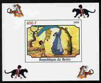 Benin 2008 Disney's Jungle Book #8 imperf individual deluxe sheet unmounted mint. Note this item is privately produced and is offered purely on its thematic appeal
