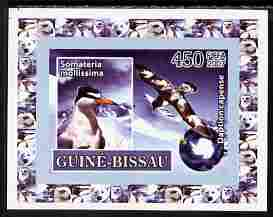 Guinea - Bissau 2007 International Polar Year - Birds #2 imperf individual deluxe sheet unmounted mint. Note this item is privately produced and is offered purely on its thematic appeal