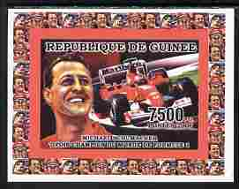 Guinea - Conakry 2006 Michael Schumacher - F1 Champion #3 imperf individual deluxe sheet unmounted mint. Note this item is privately produced and is offered purely on its thematic appeal as Yv 2733